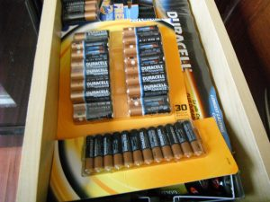 Battery drawer