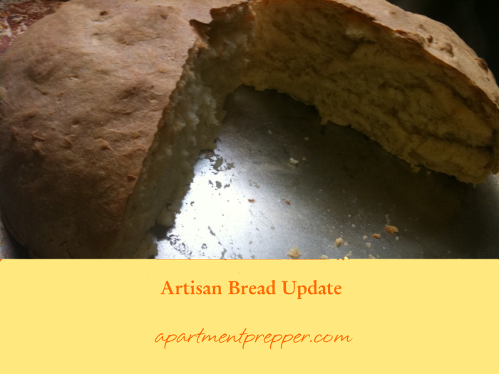 Artisan Bread Update