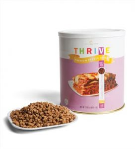 Thrive Freeze dried ground beef