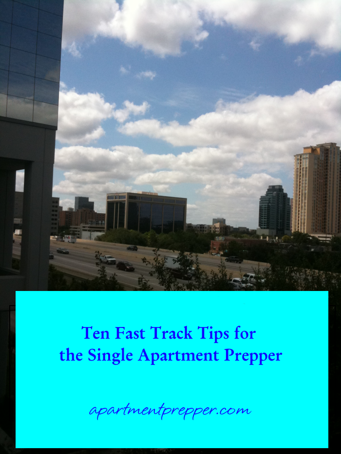 Tips for the Single Apartment Prepper
