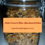 Make Cereal in Your Apartment Kitchen