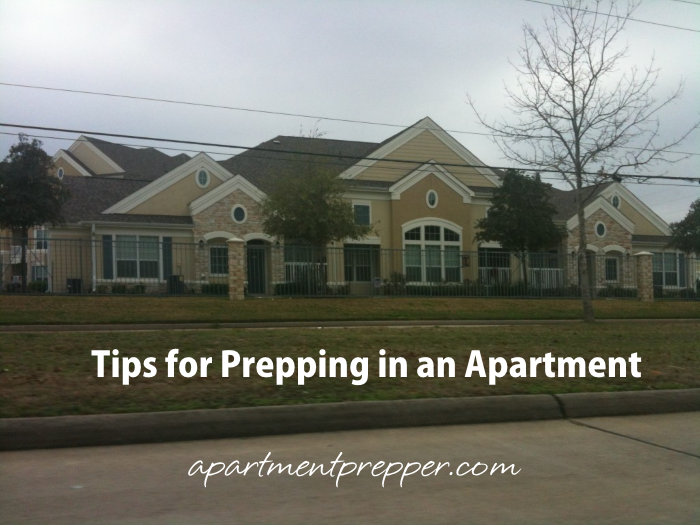 Tips for Prepping in an Apartment