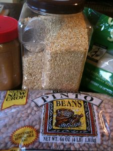 Common Food storage items