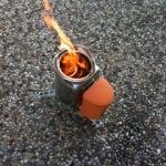 BioLite Campstove lighted