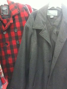 Coats and Jackets at Goodwill