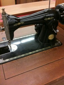 Old Sewing Machine at Goodwill