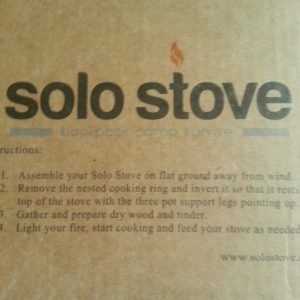 Sole Stove box