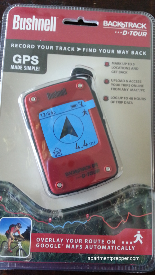 Bushnell BackTrack D-Tour Personal GPS