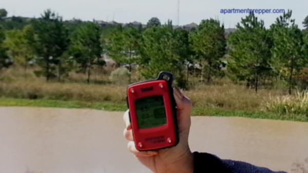 GPS in Wooded Area