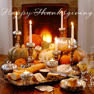 thanksgiving-centerpiece-with-silver-pumpkins-bhg