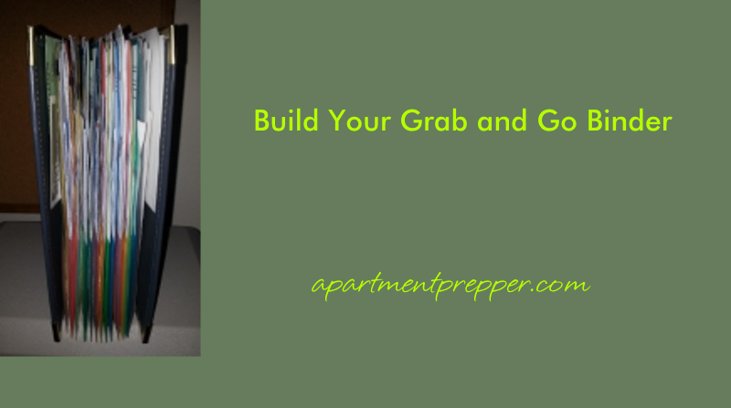 Build Your Grab and Go Binder