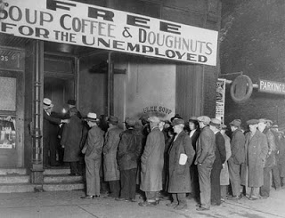Food Line Great Depression