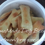 Self Sufficiency Saturdays:  Homemade Dog Biscuits
