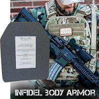 Infidel Body Armor-Free Shipping for Apartment Prepper Readers