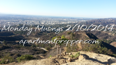 Monday Musings 02102014