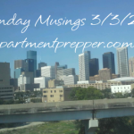 Monday Musings:  3/3/2014