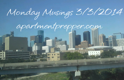 Monday Musings 332014