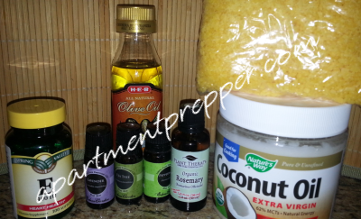 Homemade Salve Ingredients