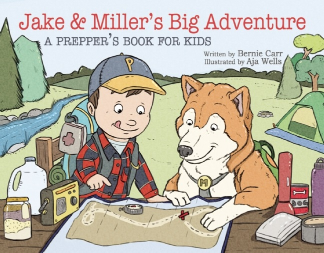 Bernie's New Book:  Jake and Miller's Big Adventure