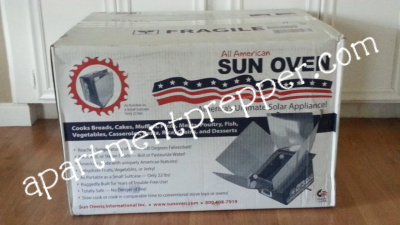 Setting Up a Sun Oven for the First Time_box
