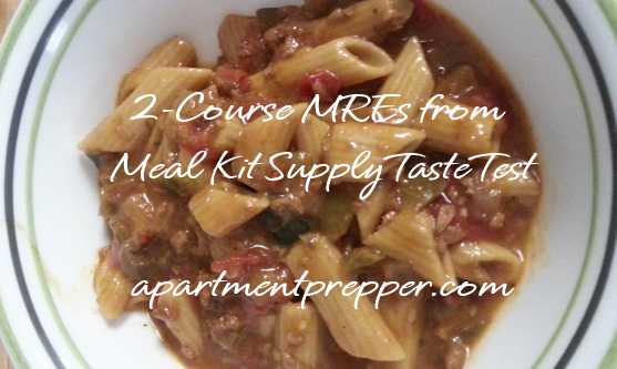 2-Course MREs from Meal Kit Supply Taste Test