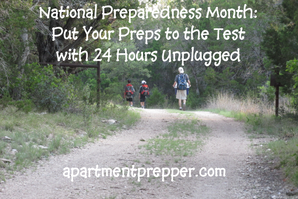 National Preparedness Month Put Your Preps to the Test
