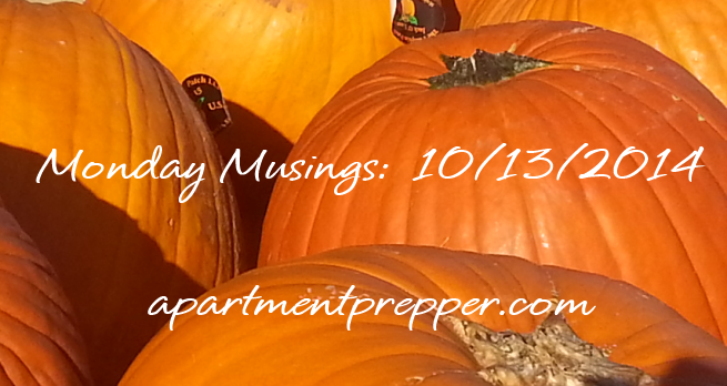 Monday Musings 0132014