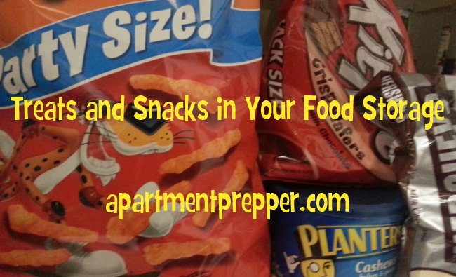 Treats and Snacks in Your Food Storage