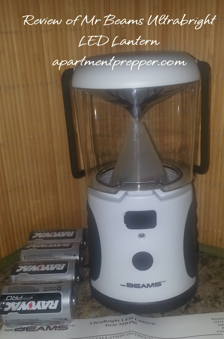 Review of Mr Beams Ultrabright LED Lantern