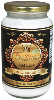 Tropical Traditions gold_label_virgin_coconut_oil_32oz