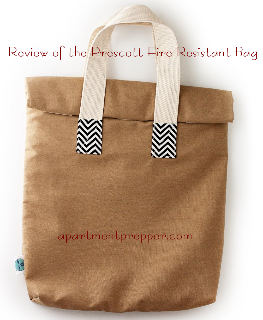 Review of the Prescott Fire Resistant bag