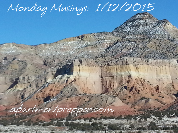 Monday Musings 1122015