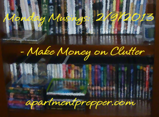 Make Money on clutter