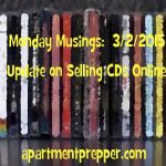 Monday Musings  3/2/2015 Update on Selling CDs Online