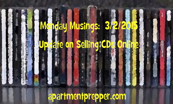 Monday Musings 03022015 Update on Selling CDs Online