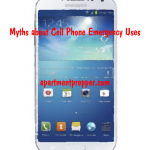 Myths about Cell Phone Emergency Uses