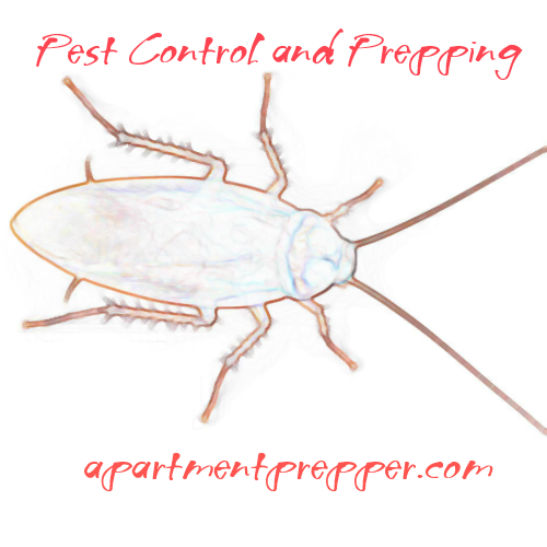Pest control and prepping