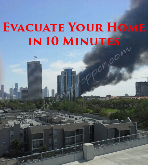 Evacuate your home in 10 minutes