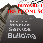 Beware the IRS Phone Scam