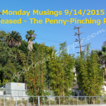 Monday Musings 9/14/2015  Just Released – The Penny-Pinching Prepper!