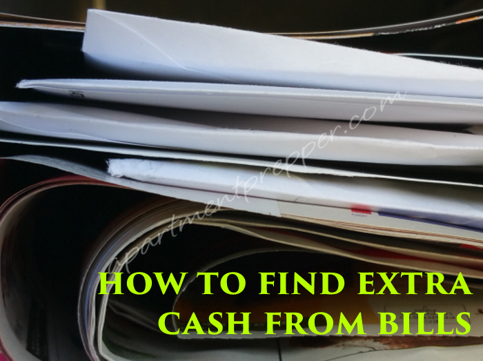 How to find extra cash