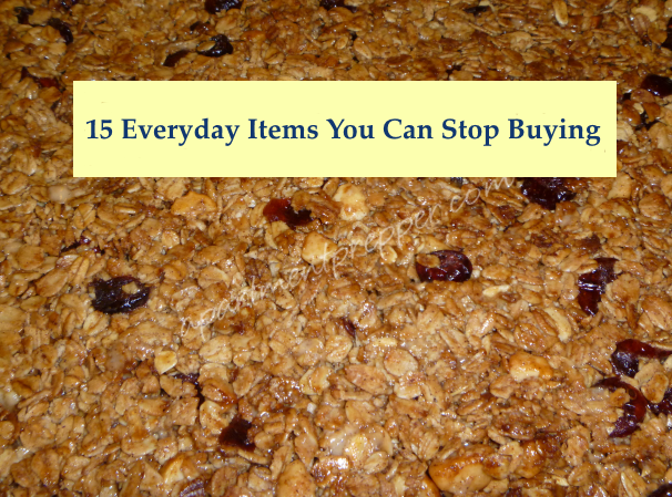 15 Everyday Items You Can Stop Buying