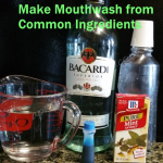 Make Mouthwash from Common Ingredients