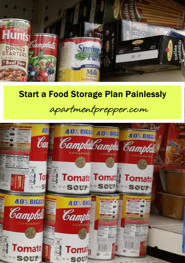 Start a Food Storage Plan Painlessly