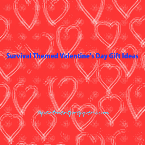 Survival Themed Valentines Day Gift Ideas