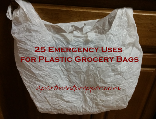 25 Emergency Uses for Plastic Grocery Bags