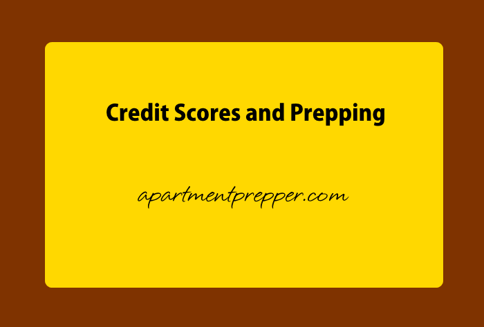 Credit Scores and Prepping