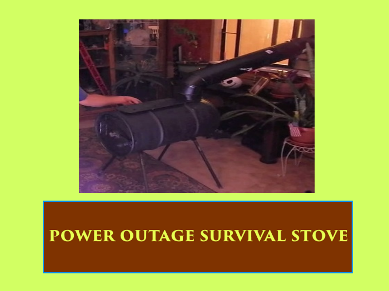 Power Outage Survival Stove