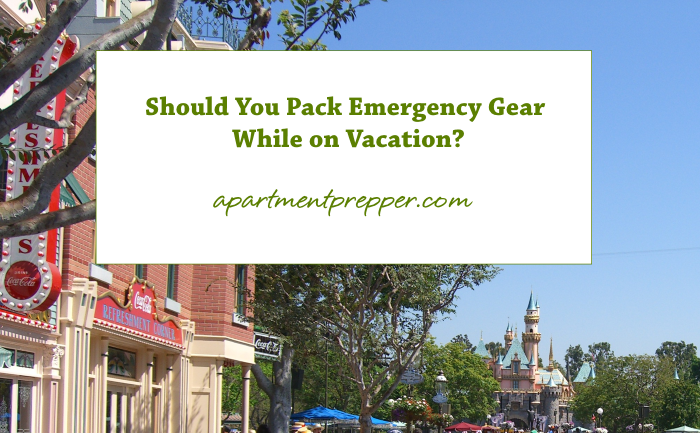 Should You Pack Emergency Gear While on Vacation