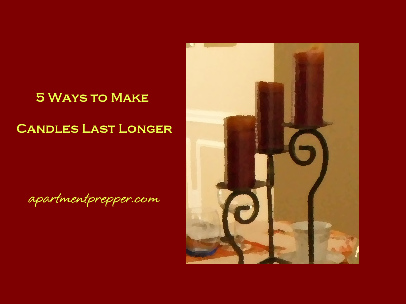 How To Make Candles Last Longer 5 Ways To Make Candles